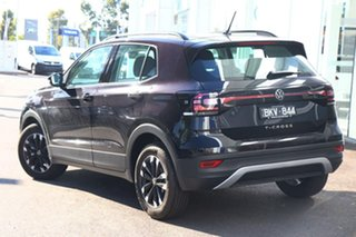 2020 Volkswagen T-Cross C1 MY21 85TSI DSG FWD Life Black 7 Speed Sports Automatic Dual Clutch Wagon.