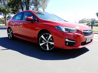 2017 Subaru Impreza G5 MY18 2.0i-S CVT AWD Pure Red 7 Speed Constant Variable Sedan.