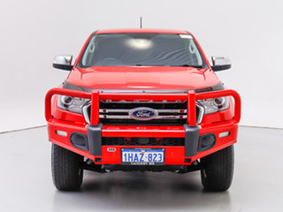 2018 Ford Ranger PX MkIII MY19 XLT 3.2 (4x4) Red 6 Speed Automatic Double Cab Pick Up.
