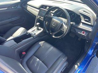 2018 Honda Civic 10th Gen MY18 VTi-LX Blue 1 Speed Constant Variable Hatchback