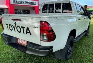 2018 Toyota Hilux GUN136R SR Double Cab 4x2 Hi-Ride White 6 Speed Manual Utility.