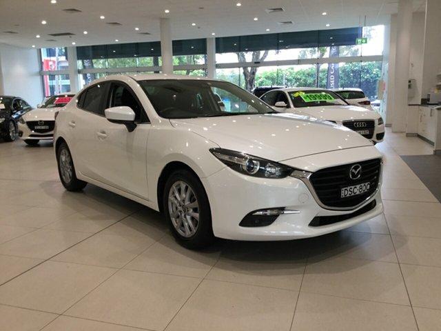 Used Mazda 3 BN5478 Touring SKYACTIV-Drive Alexandria, 2017 Mazda 3 BN5478 Touring SKYACTIV-Drive White 6 Speed Sports Automatic Hatchback