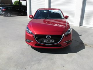 2016 Mazda 3 BN5278 Maxx SKYACTIV-Drive Red 6 Speed Sports Automatic Sedan.