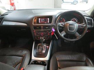2010 Audi Q5 8R MY10 TDI S Tronic Quattro Silver 7 Speed Sports Automatic Dual Clutch Wagon
