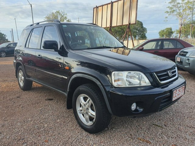 Used Honda CR-V Sport 4WD Pinelands, 2001 Honda CR-V Sport 4WD Black 4 Speed Automatic Wagon