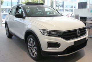 2020 Volkswagen T-ROC A1 MY21 110TSI Style White 8 Speed Sports Automatic Wagon.