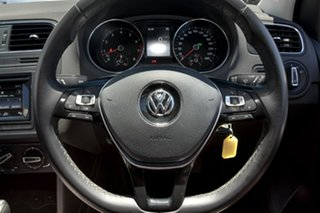2015 Volkswagen Polo 6R MY15 81TSI DSG Comfortline Grey 7 Speed Sports Automatic Dual Clutch