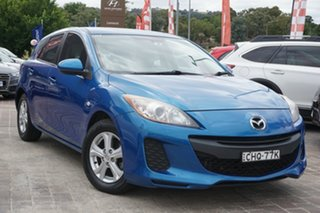 2012 Mazda 3 BL10F2 Neo Blue 6 Speed Manual Hatchback.
