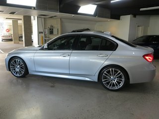 2015 BMW 3 Series F30 LCI 330i M Sport Silver 8 Speed Sports Automatic Sedan