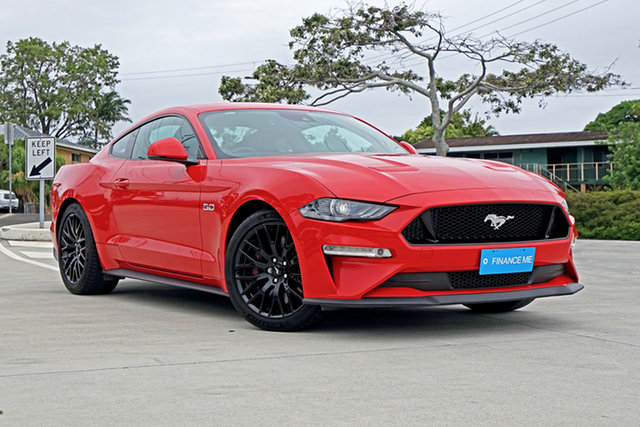 Used Ford Mustang FN 2018MY GT Fastback SelectShift Capalaba, 2018 Ford Mustang FN 2018MY GT Fastback SelectShift Race Red 10 Speed Sports Automatic Fastback
