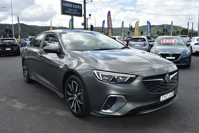 Used Holden Commodore ZB MY19 RS Liftback Gosford, 2019 Holden Commodore ZB MY19 RS Liftback Cosmic Grey 9 Speed Sports Automatic Liftback