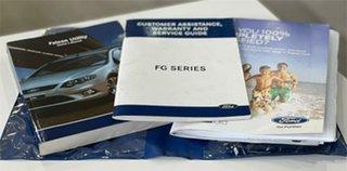2009 Ford Falcon FG XR8 White 6 Speed Manual Sedan.