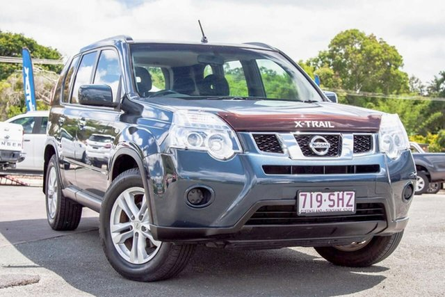 Used Nissan X-Trail T31 Series V ST Gympie, 2012 Nissan X-Trail T31 Series V ST Tempest Blue 6 Speed Manual Wagon