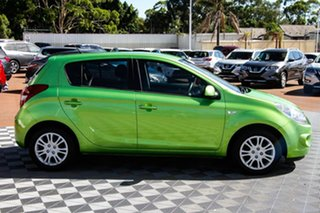 2012 Hyundai i20 PB MY12 Active Green 4 Speed Automatic Hatchback