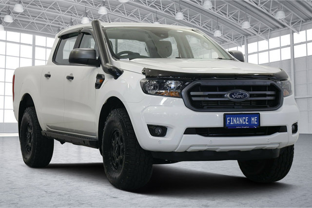 Used Ford Ranger PX MkIII 2020.25MY XLS Victoria Park, 2020 Ford Ranger PX MkIII 2020.25MY XLS White 6 Speed Sports Automatic Double Cab Pick Up