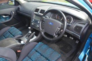 2005 Ford Falcon BA MkII XR6 Blue 4 Speed Auto Seq Sportshift Utility