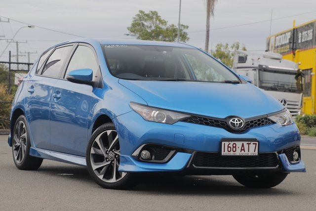 Used Toyota Corolla ZRE182R SX S-CVT Rocklea, 2016 Toyota Corolla ZRE182R SX S-CVT Blue Gem 7 Speed Constant Variable Hatchback