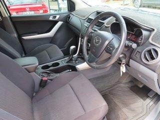 2013 Mazda BT-50 XTR White Automatic Utility