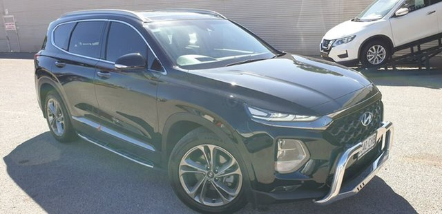 Used Hyundai Santa Fe DM5 MY18 Highlander Elizabeth, 2018 Hyundai Santa Fe DM5 MY18 Highlander Black 6 Speed Sports Automatic Wagon