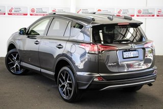2018 Toyota RAV4 ZSA42R MY18 GXL Premium Interior (2WD) Graphite Continuous Variable Wagon.