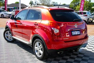 2015 Ssangyong Korando C200 MY15 SX Red 6 Speed Automatic Wagon.