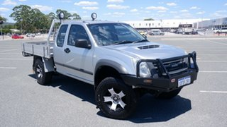 2009 Isuzu D-MAX TF SX (4x4) Silver 5 Speed Manual Space Cab Chassis.
