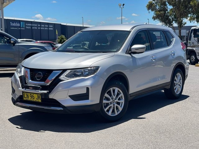 Used Nissan X-Trail ST Goulburn, 2017 Nissan X-Trail ST Silver Constant Variable Wagon