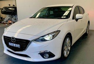 2014 Mazda 3 BM5238 SP25 SKYACTIV-Drive GT White 6 Speed Sports Automatic Sedan.