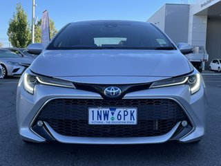 2018 Toyota Corolla ZWE211R ZR E-CVT Hybrid Silver 10 Speed Constant Variable Hatchback Hybrid.