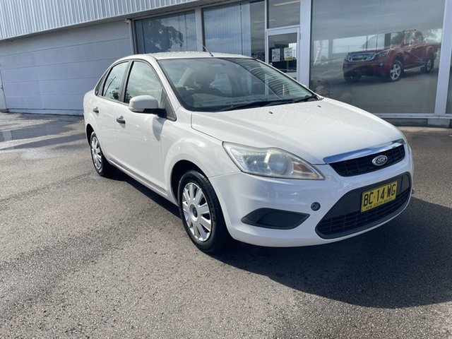 Pre-Owned Ford Focus LV CL Cardiff, 2009 Ford Focus LV CL White 5 Speed Manual Sedan
