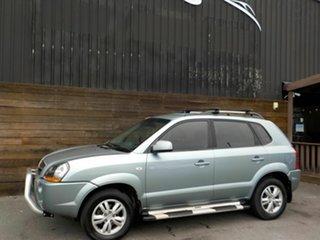 2009 Hyundai Tucson JM MY09 City SX Silver 5 Speed Manual Wagon