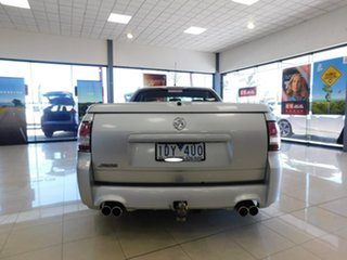 2010 Holden Ute VE MY10 SS Silver 6 Speed Manual Utility