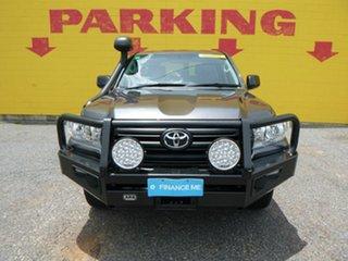 2016 Toyota Landcruiser VDJ200R GX Grey 6 Speed Sports Automatic Wagon.