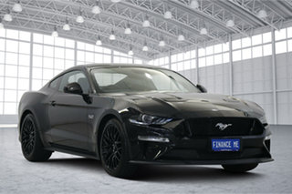 2018 Ford Mustang FN 2019MY GT Shadow Black 10 Speed Sports Automatic Fastback.