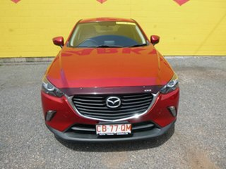 2015 Mazda CX-3 DK4W7A Maxx SKYACTIV-Drive i-ACTIV AWD Red 6 Speed Sports Automatic Wagon.
