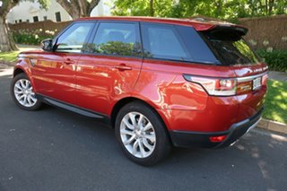 2014 Land Rover Range Rover Sport L494 MY14.5 HSE Red 8 Speed Sports Automatic Wagon.