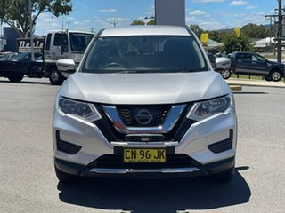2017 Nissan X-Trail ST Silver Constant Variable Wagon.