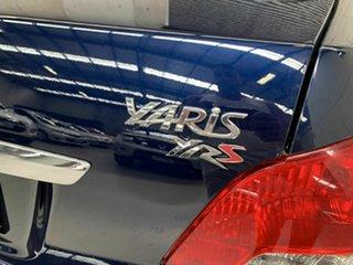 2007 Toyota Yaris NCP93R YRS Blue 4 Speed Automatic Sedan