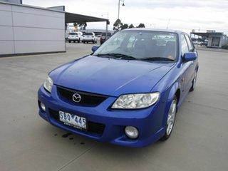 2003 Mazda 323 BJ II-J48 Astina Blue 5 Speed Manual Hatchback