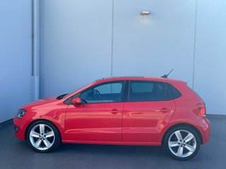 2013 Volkswagen Polo 6R MY13.5 66TDI DSG Comfortline Red 7 Speed Sports Automatic Dual Clutch