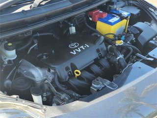 2007 Toyota Yaris NCP93R YRS Grey 5 Speed Manual Sedan