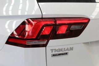 2020 Volkswagen Tiguan 5N MY20 132TSI Comfortline DSG 4MOTION Allspace White 7 Speed.