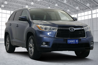 2014 Toyota Kluger GSU50R GXL 2WD Blue 6 Speed Sports Automatic Wagon.