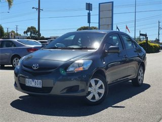 2007 Toyota Yaris NCP93R YRS Grey 5 Speed Manual Sedan