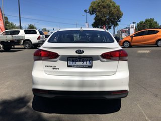 2018 Kia Cerato YD MY18 Sport White 6 Speed Auto Seq Sportshift Sedan
