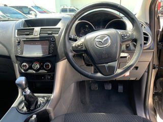2015 Mazda BT-50 UR0YF1 XT 4x2 Hi-Rider Grey 6 Speed Manual Utility