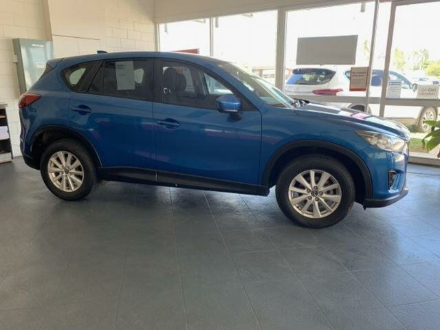 Used Mazda CX-5 Maxx Sport (4x4) Emerald, 2013 Mazda CX-5 Maxx Sport (4x4) Blue 6 Speed Automatic Wagon