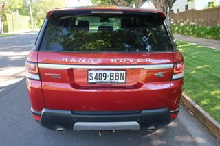 2014 Land Rover Range Rover Sport L494 MY14.5 HSE Red 8 Speed Sports Automatic Wagon