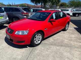 2012 Holden Commodore VE II MY12 Omega Red 6 Speed Sports Automatic Sedan