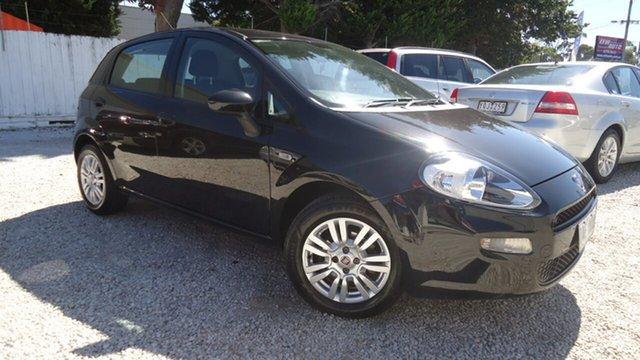 Used Fiat Punto MY13 Easy Dualogic Seaford, 2013 Fiat Punto MY13 Easy Dualogic Black 5 Speed Sports Automatic Single Clutch Hatchback